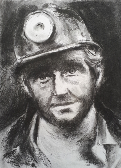 Coal Miner Portrait