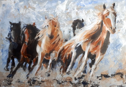 Galloping Horses Demo PIece